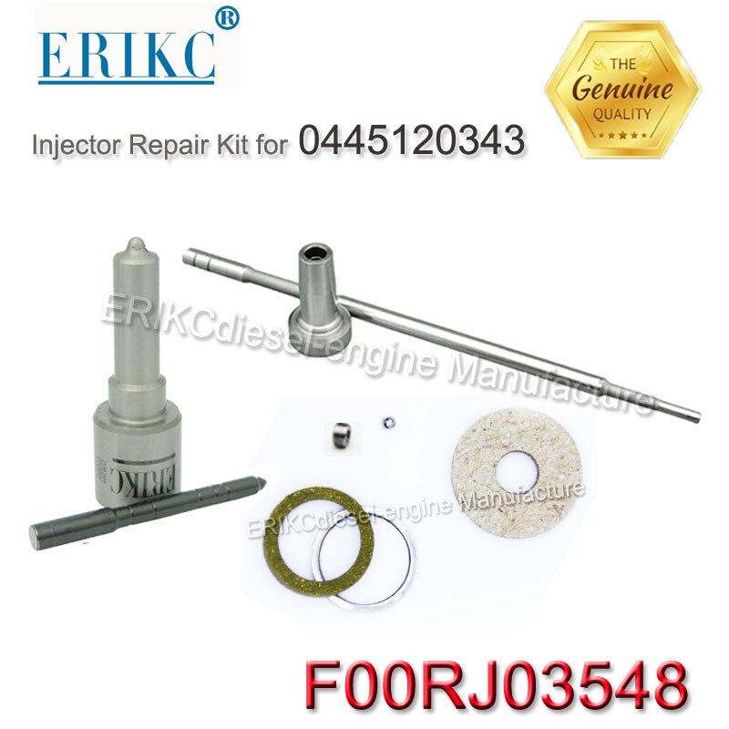 ERIKC F00RJ03548 оптовая продажа комплектов для ремонта common rail комплекты для ремонта топлива F00R J03 548 для инжектора 0445120343 Weichai WD10 EU4