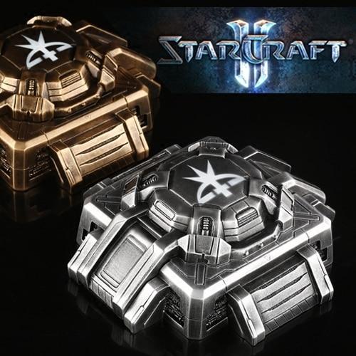 Starcraft Terran Bunker Model Ashtray With Lids Storge Box Gift Resin Ashtrays 3