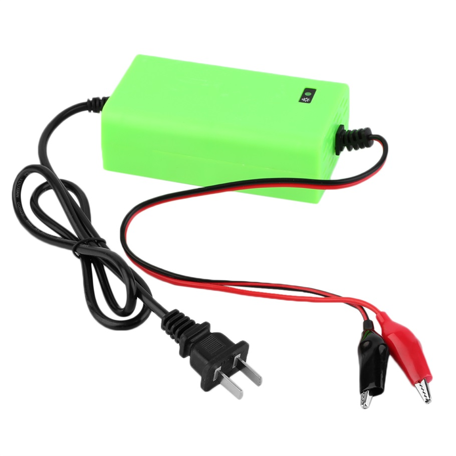 Mini Portable 12V 2A Car Battery Charger Adapter Power Supply ...