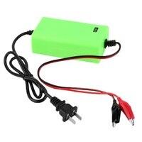 12ボルト2aインテリジェントオートカーバッテリー充電器電圧充電式バッテリー電源充電器220ボルト自動電源グリーンカラー