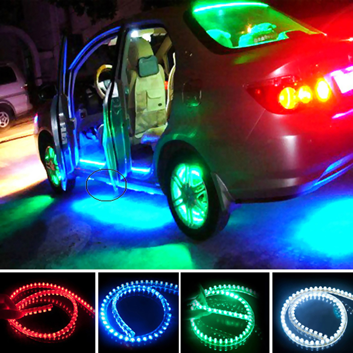 12v 24cm led car styling led drl light strip for daytime. Black Bedroom Furniture Sets. Home Design Ideas