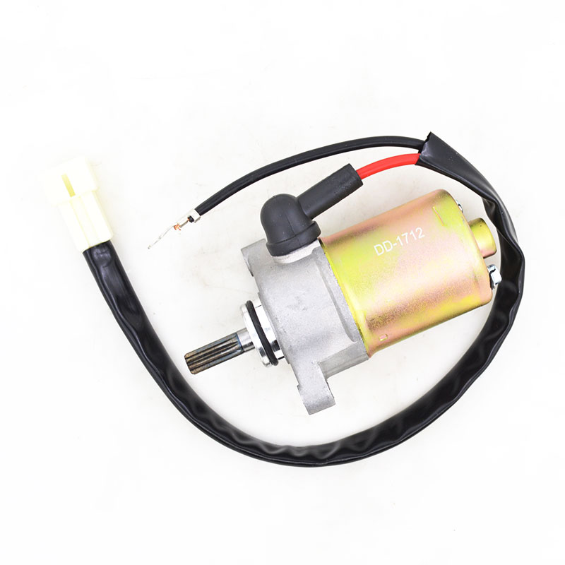 US $25 49 15% OFF|Motorcycle Engine Electric Starter Motor for Yamaha ZY100  JOG100 RS100 RSZ100 100cc Engine Spare Parts-in Motorcycle Starter from