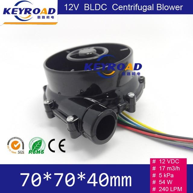 12V 54W 17m3 / h Micro ventilatore DC senza spazzola ad alta - Utensili elettrici - Fotografia 2