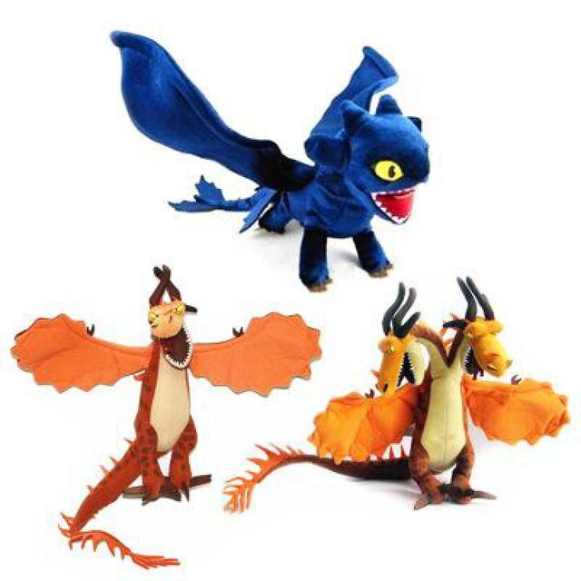 New Arrive Big Size How To Train Your Dragon Plush Toys Toothless