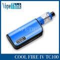 100% original INNOKIN Coolfire IV TC 100 Kit Com Fogo Legal IV TC100w 3300 mah bateria Mod Aethon Chipset 3 ml iSub V tanque