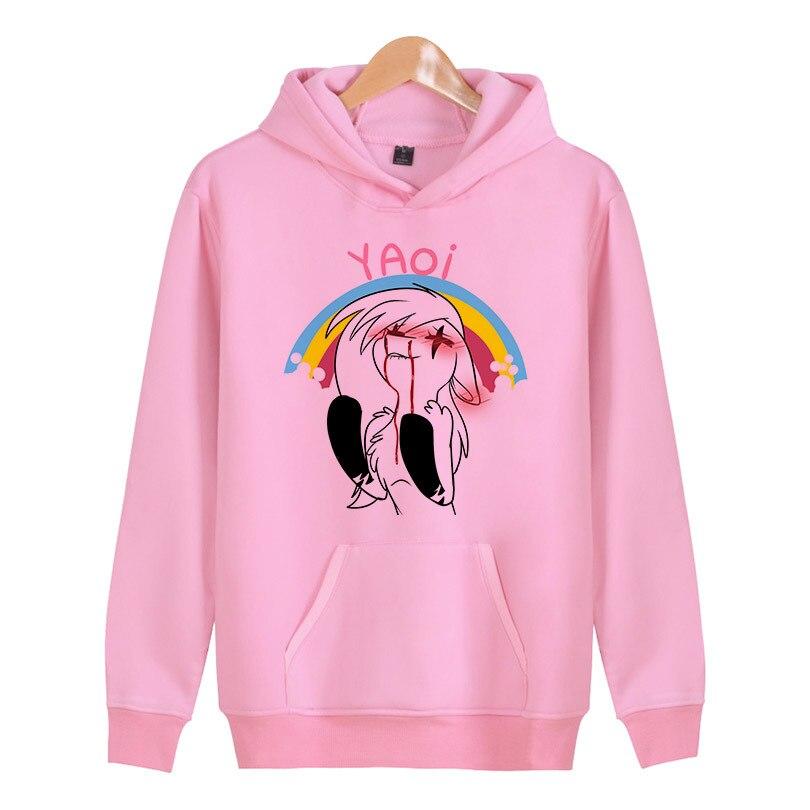 yaoi New Autumn women Hoodies Sweatshirt kpop Streetwear Color Hip Hop female Hooded Sportswear W5045