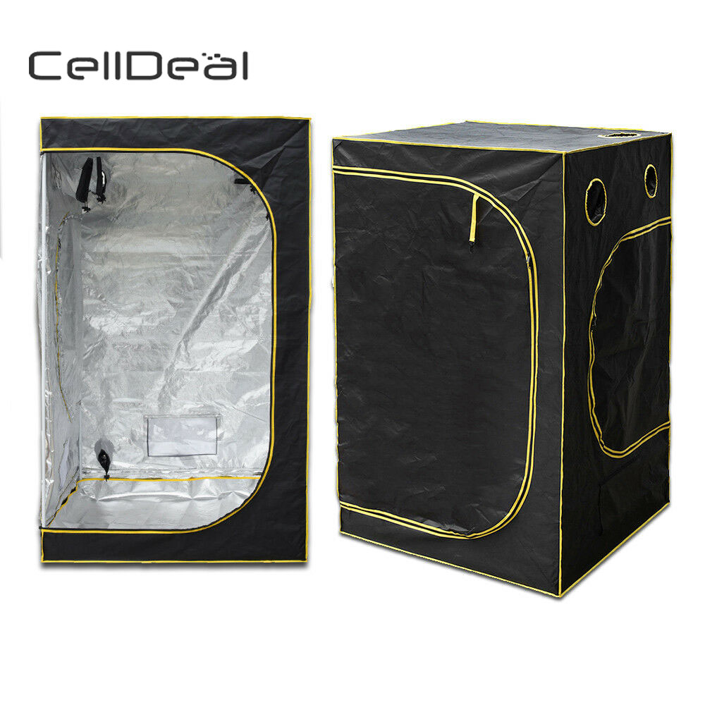Hydroponic Water-Resistant Grow Tent with Removable Floor Tray Aluminum FoilHydroponic Water-Resistant Grow Tent with Removable Floor Tray Aluminum Foil