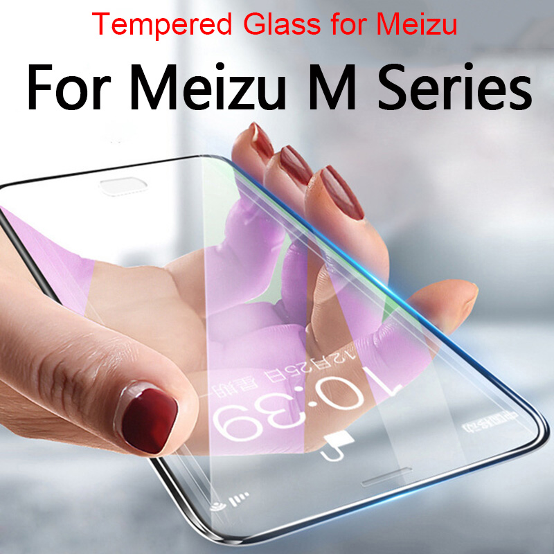 GzPuluz Glass Protector Film 100 PCS 9H 2.5D Tempered Glass Film for Meizu M5S