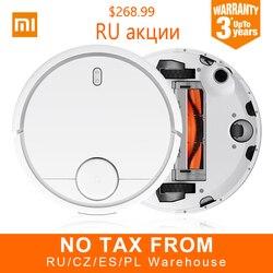 Global Version Original XIAOMI MI Robot Vacuum Cleaner Smart Planned Type WIFI App Control Auto Charge EU Russia Stock