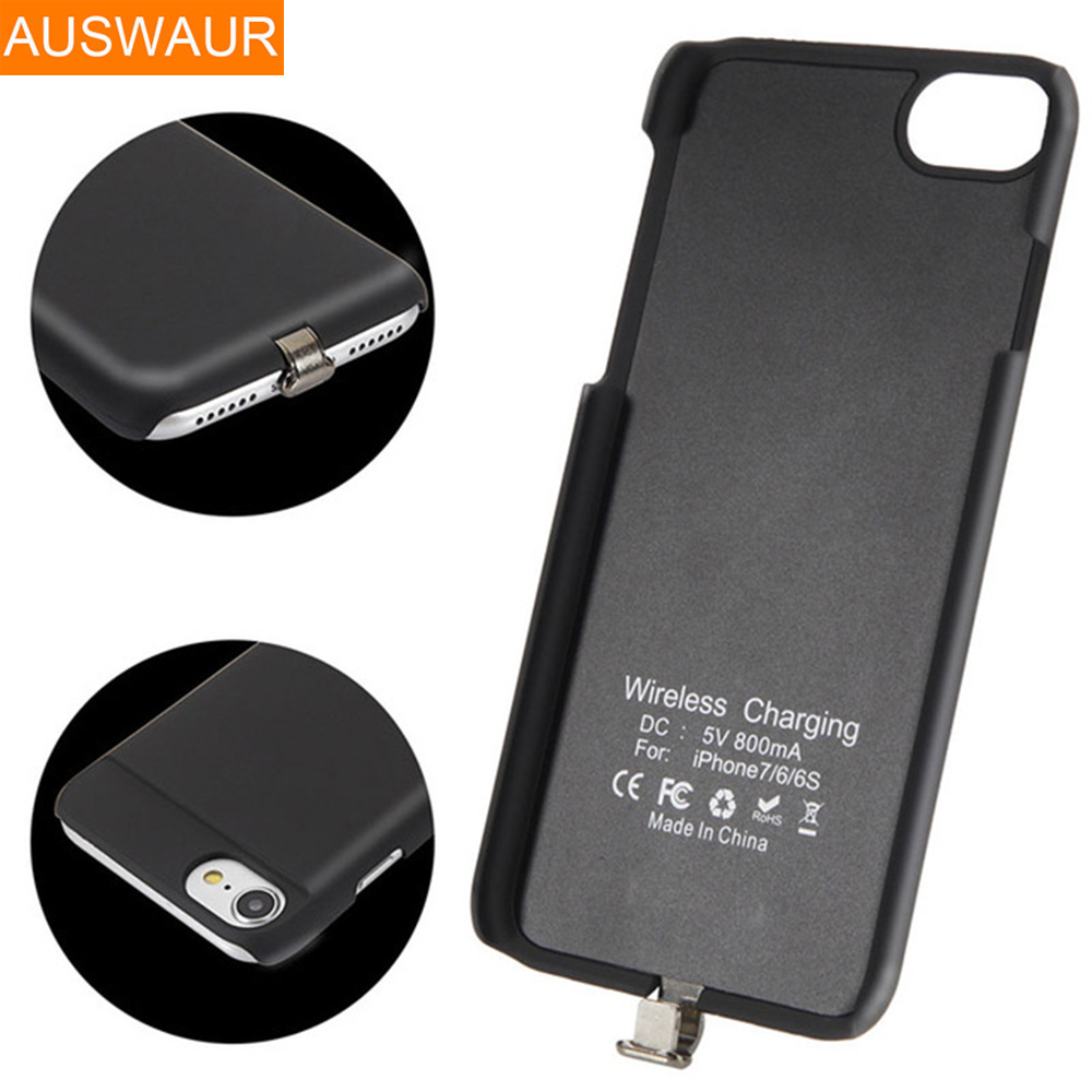 produs qi wireless charger charging receiver cover case for apple