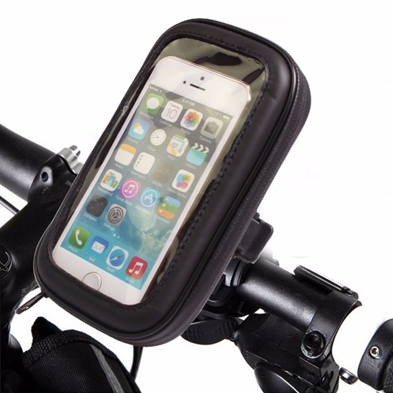 2017 Nuevo bolso de La Bicicleta Impermeable Bicicleta Titular Del Teléfono Para