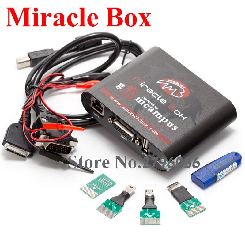 Boîtier Miracle avec clé Miracle Dongle (4 adaptateurs) + UMF tous les câbles de démarrage pour les téléphones mobiles de chine déverrouiller la réparation déverrouiller - 2