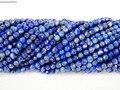 Lapis Lazuli naturais Pedras Preciosas 3mm Facetada Rodada Spacer Missangas 15.5 ''Vertente para Fazer Jóias Artesanato 5 100strands/Pack