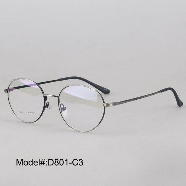 MY DOLI D801 brand new men\'s style full rim round RX optical frames ...