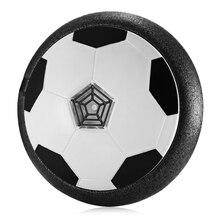 Классические детские игрушки электрическая подвеска футбол с красочным светом музыка досуг спорт игрушка пневматический диск