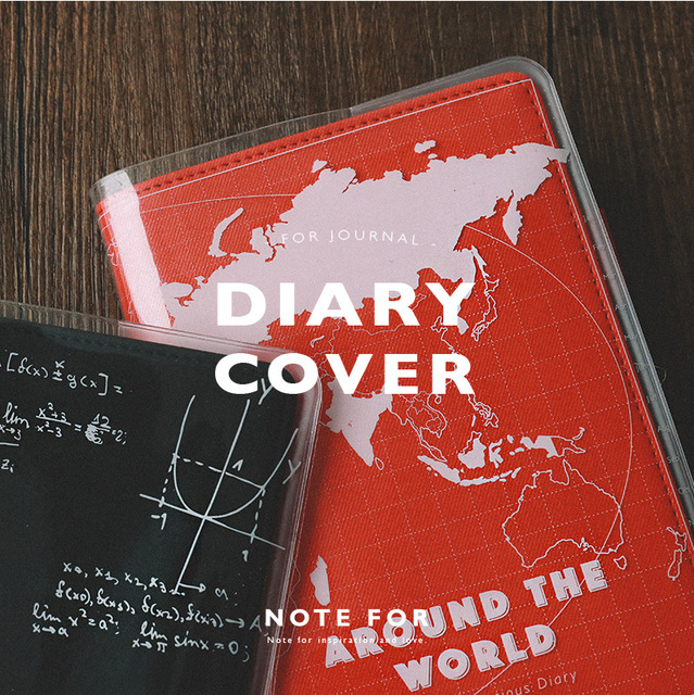 PVC Cover For Hobonichi Journal Cover Standard A5 A6 1 Sheet Free Shipping 2018 Stationery Gift
