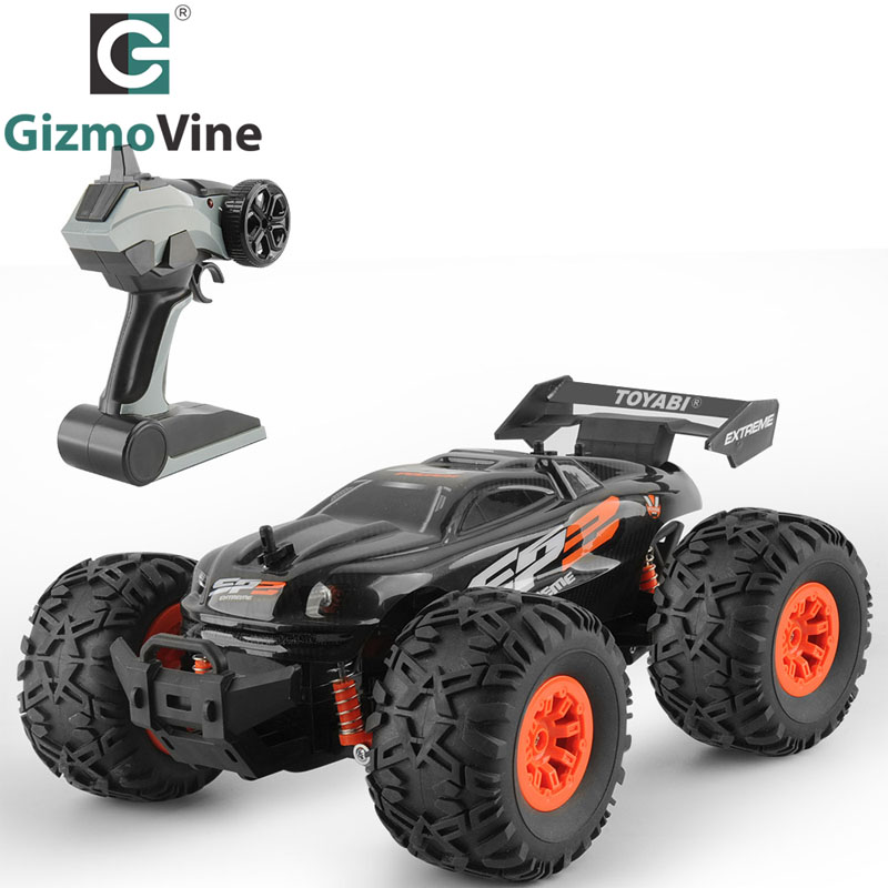 GizmoVine RC Car Remote Control Car 1/18 Monster Truck Oversize Tires Bigfoot 2.4Ghz RC Car Toy for Kids