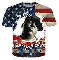 The Notorious B.I.G. Biggie Smalls Tupac T-Shirt 2Pac 3d t shirt short sleeve casual hip hop outerwear streetwear women men tees