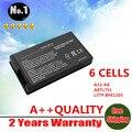 Лэптоп аккумулятор для ASUS A8 A8000 F8 Z99 N80 N81 X80 X81 серии A32-A8 6 клетки