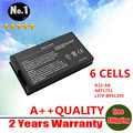 Wholesale  New Laptop battery for ASUS A8 A8000 F8 Z99 N80 N81 X80 X81 series A32-A8   6 cells Free shipping