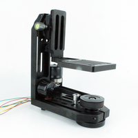PT-0SM MOCO motion control pan tilt head with 2 stepper motors without controller for stop motion