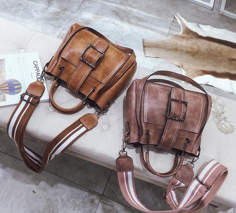 New European and American style vintage PU women handbag shoulder bag messenger bag 94