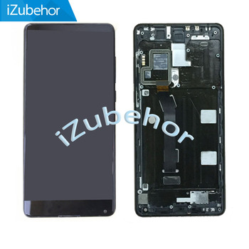 "5.99"" LCD complete For Xiaomi Mix 2 mix2 Mi Mix 2 LCD screen +touch panel digitizer  Assembly with Frame  by Free Shipping"