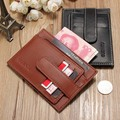 GUBINTU Retro Men Women Genuine Leather Purse Capacity Card Holder 2016 New