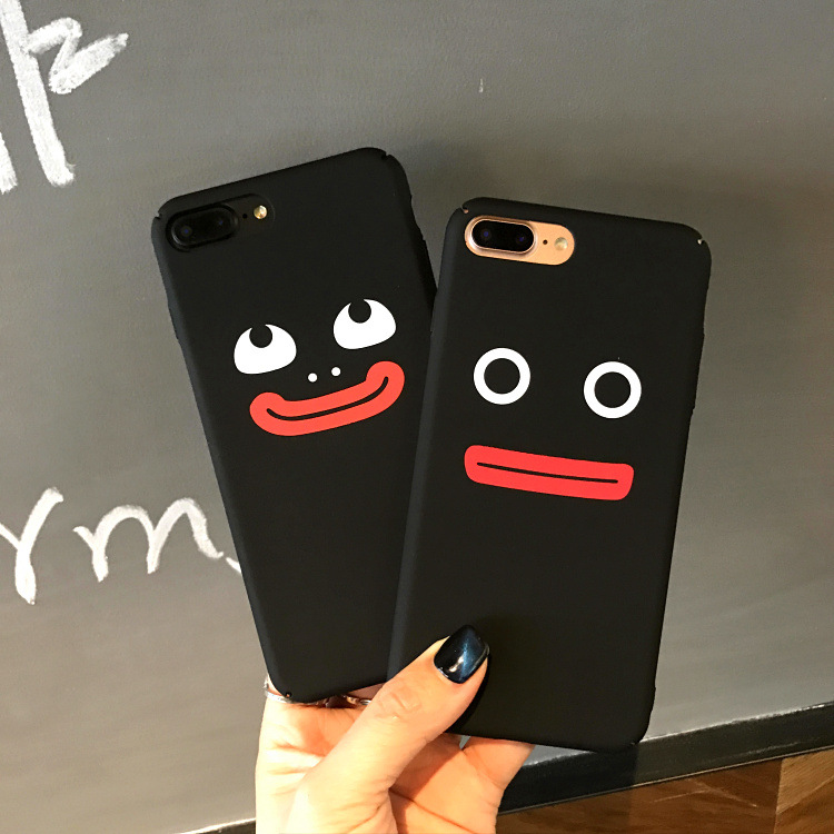 SZYHOME Phone Cases Lovely Funny for IPhone 6 6s 7 Plus Case Personality Frosted for IPhone 7 Plus Hard Mobile Phone Cover Capa