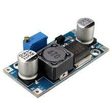 100 ピース/ロット XL6009 4A DC DC 調整可能なステップアップ昇圧コンバータモジュール 3 32 ボルトに 5 35 ボルト電圧の充電器モジュール DIY