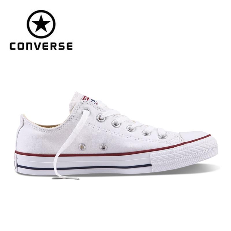 Authentischen Converse ALL STAR Klassische Atmungsaktive Leinwand Low-Top Skateboard Schuhe Unisex Anti-Rutschig Turnschuhe für Junge
