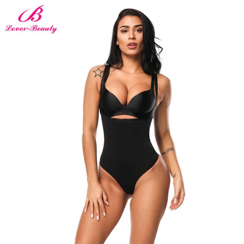 47a103334f Lover Beauty Women Full Body Shaper Waist Cincher Underbust Thong Corset  Bodysuit Jumpsuit Shapewear Seamless Pants