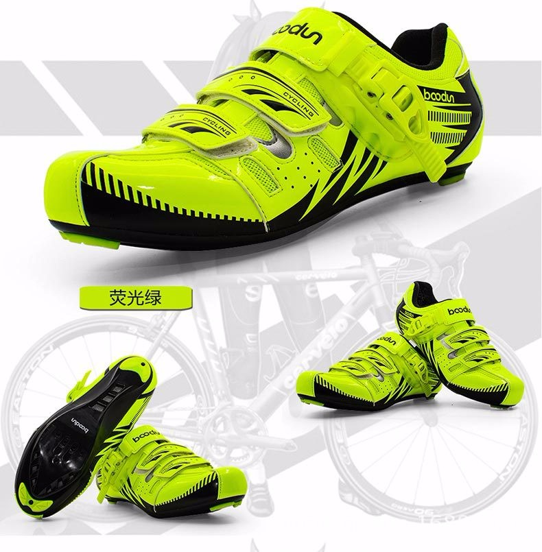 BOODUN new bike shoes male road bike mountain bike riding shoes breathable anti - skid lock shoes J040031 kelme 2016 new children sport running shoes football boots synthetic leather broken nail kids skid wearable shoes breathable 49