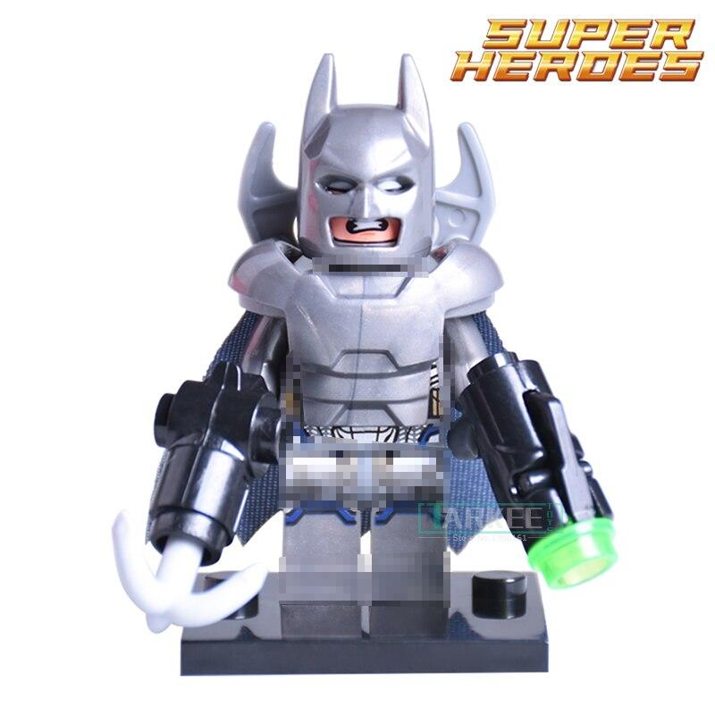 The Avengers DC Super Heroes Batman vs. Superman diy figures Building Blocks Batman 1PC Sale Bricks For Kids Toys
