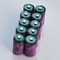 10PCS ER14250 1/2AA 3.6V liSOCL2 lithium primary battery 14250 1/2 AA cell replace for Tadiran TL-5902 gas water meter 1