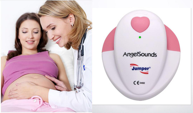 Hot Jumper AngelSounds fetal doppler Pocket Ultrasound Prenatal Fetal Detector Portable Baby HeartRate detector Baby monitor футболка prenatal футболка