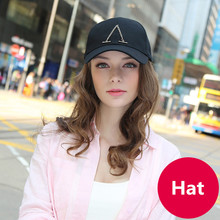 Adjustable Classic Black Letters Baseball Cap Solid Color 100% Cotton Women's Caps Outdoor Sports Shade Sun Girls Hats