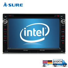 A-Sure HD 7″ 2 Din Stereo Radio Quad Core Android 6.0 Car DVD GPS For VW Passat B5 POLO Golf 4 BORA Sharan T5 Jetta BT