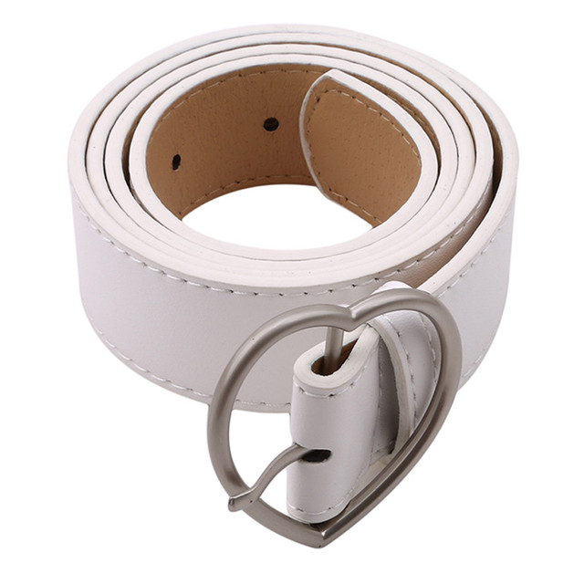 Lady Imitation Leather Belt...