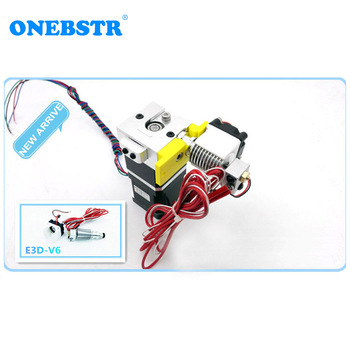 3D Printer Extruder E 3D V6 bulldog XL Extrusion System Suite Replace MK8 Heating Head J-head E 3D V5 High quality free shipping