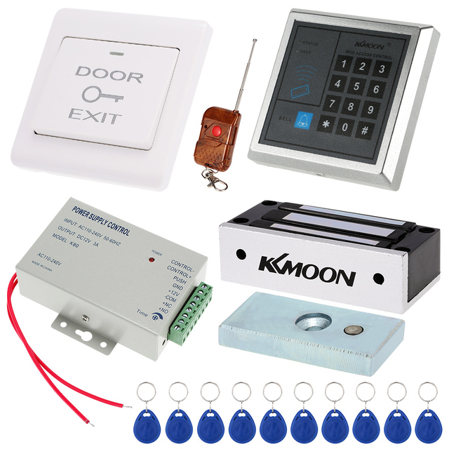 Kkmoon 125khz Rfid Door Entry Access Control System 60kg Electric