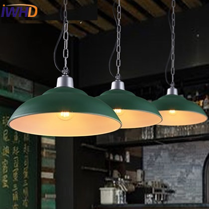 IWHD Iron Vintage Lamp Industrial Pendant Light Fixtures Loft style Retro Kitchen Rrestaurant Lights Living Room Lamparas Lustre iwhd vintage hanging lamp led style loft vintage industrial lighting pendant lights creative kitchen retro light fixtures