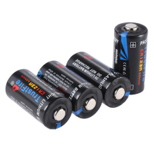 цены 4pcs/lot TrustFire Non-rechargeable CR123A 123A 3V 1400mAh Disposable Lithium Battery Batteries for Camera/Video Game Player