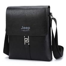 70033b9170d 2017 JEEP BULUO Fashion Men Bags Waterproof Cow Split Leather Messenger Bag  Business Briefcase Crossbody Bags