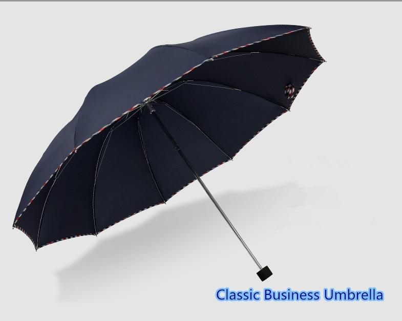 Quality merchandise classic business umbrella, rain and rain reinforcement 10 fold seventy off business sunshade umbrella