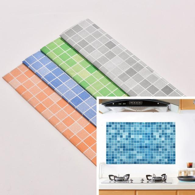 45x70 Cm Küche Mosaik Fliesen Aufkleber Für Wandtattoo Aufkleber Bad  Wasserdicht Selbstklebende Tapete Home Dekoration