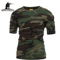 Tactical Military Camouflage T Shirt Men Breathable Quick Dry US Army Training Combat T Shirt Outdoor