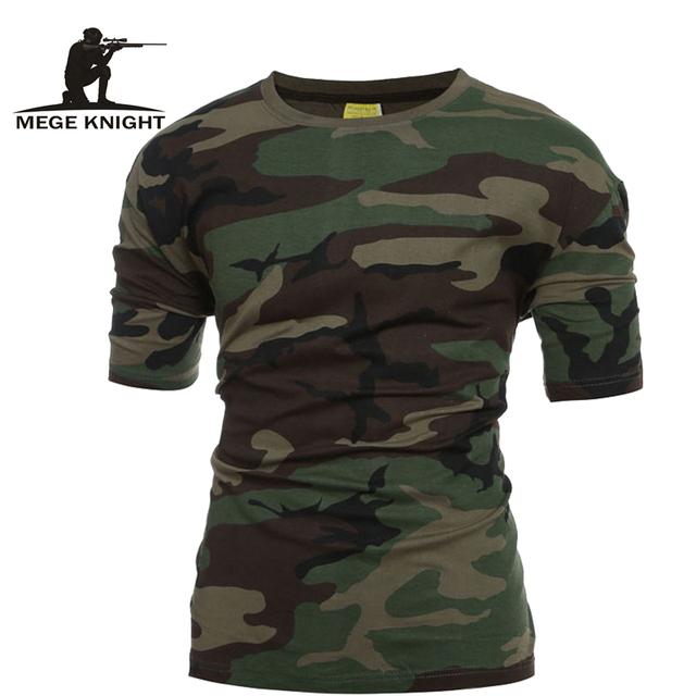 Tático Militar Camuflagem T Camisa de Combate Do Exército DOS EUA Dos Homens Respirável de Secagem rápida T-Shirt Outwear Tshirt