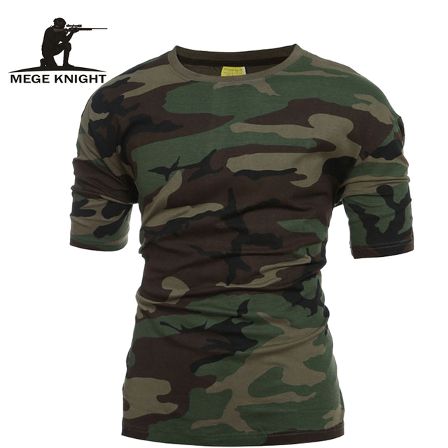 Tactical Military Camouflage T Shirt Men Breathable Quick Dry US Army  Combat T-Shirt Outwear T-shirt 93eecce6c