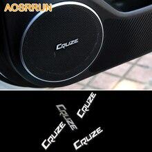 Нержавеющая сталь аудио знак авто звук эмблемы и аксессуары для автомобиля для Chevrolet Cruze седан хэтчбек 2009